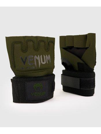 Venum Venum Kontact Gel Glove Wraps Khaki Schwarz