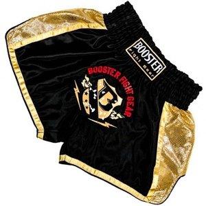 Booster Booster Muay Thai Short TBT Pro 4.4 Zwart Goud Kickboks Broekje