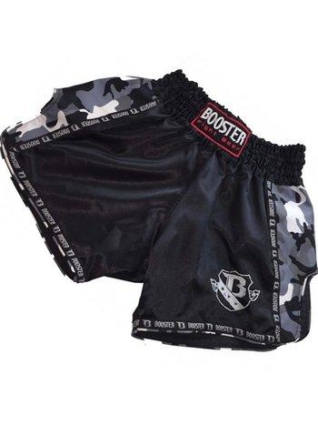 Booster Booster Muay Thai Short TBT Pro 4.26 Schwarz Camo