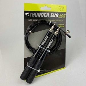 Venum Venum Thunder Evo Jump Rope Skipping Rope Black