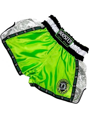 Booster Booster Kickboxing Muay Thai Short TBT Pro 4.1 Neo Green