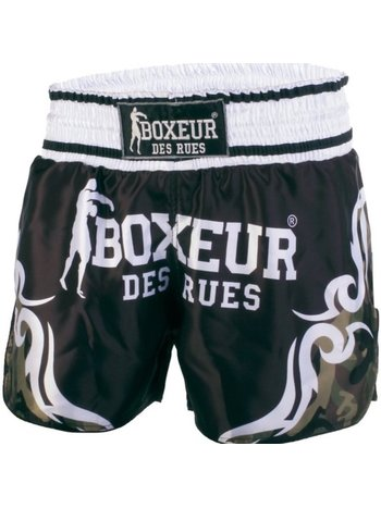 Boxeur des Rues Boxeur Kickboks Muay Thai Short Tribal Symbols Camo