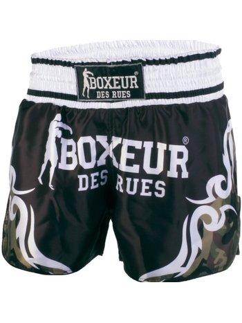 Boxeur des Rues Boxeur Kickboxen Muay Thai Shorts Tribal Symbols Camo