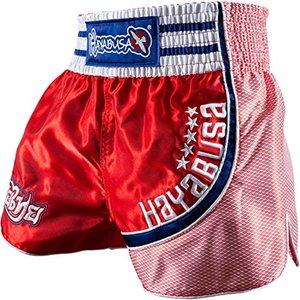 Hayabusa Hayabusa Lion Warrior Muay Thai Shorts Red