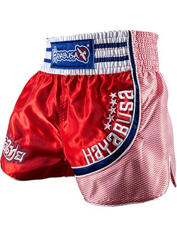 Hayabusa Hayabusa Lion Warrior Muay Thai Shorts Red