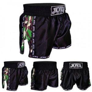 Joya Fight Wear Joya Muay Thai Kickboks Broekjes Camo Groen