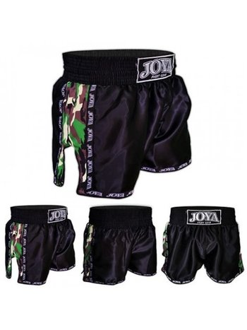 Joya Fight Wear Joya Muay Thai Kickboxing Shorts Camo Green
