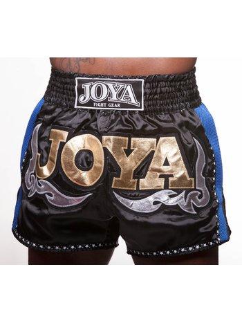 Joya Fight Wear Joya Muay Thai Kickboks Broek 56 Zwart Blauw