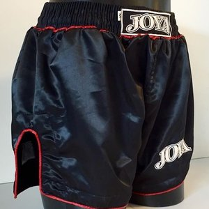 Joya Fight Wear Joya Kickboxing Shorts Fighter Zwart Rood