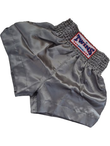 Twins Special Twins Kickboxing Shorts TTE 002 Silver Grey