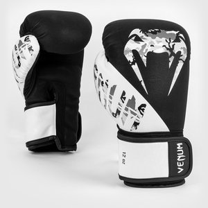 Venum Venum Legacy Boxing Gloves Black White