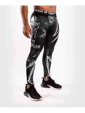 Venum Venum GLDTR 4.0 Compression Legging Tights Black White