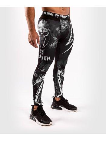 Venum Venum GLDTR 4.0 Compression Legging Tights Zwart Wit