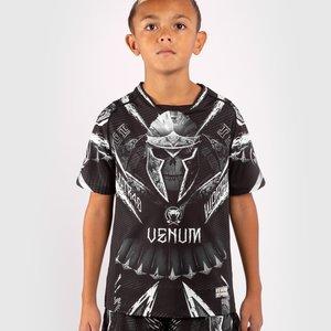 Venum Venum Kids GLDTR 4.0 Dry-Tech T-shirt Zwart Wit