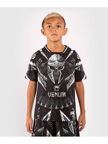 Venum Venum Kinder GLDTR 4.0 Dry-Tech T-Shirt Schwarz Weiß