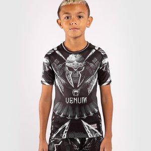 Venum Venum Kids GLDTR 4.0 Rash Guard Zwart Wit