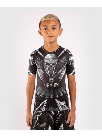 Venum Venum GLDTR 4.0 Rash Guard Kinder Schwarz Weiß