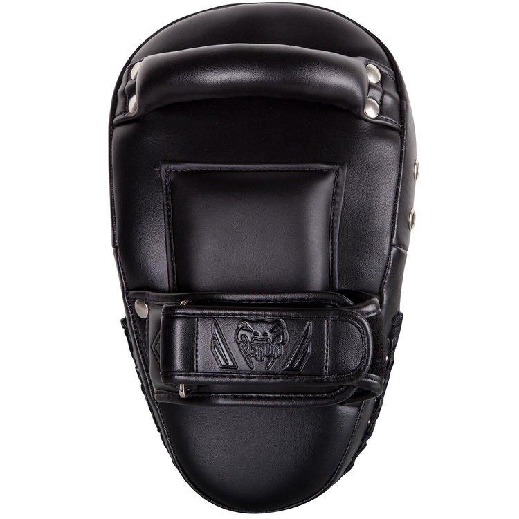 Venum Venum Elite Small Kick Pads Black on Black