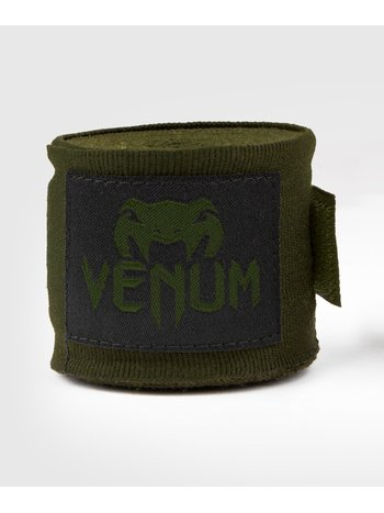 Venum Venum Kontact Hand Wraps Boxbandagen 2.5M Khaki Schwarz