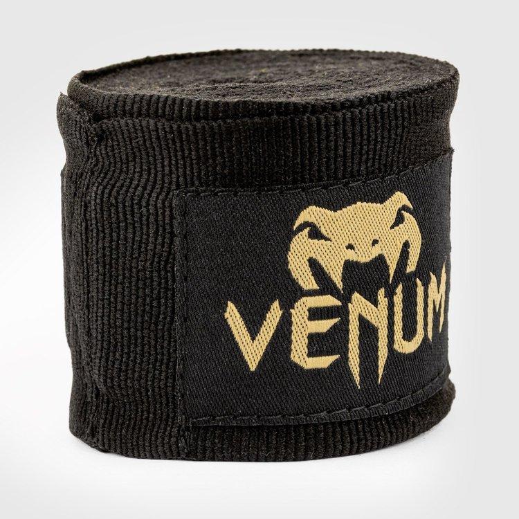 Venum Venum Kontact Boxing Handwraps 4m Black Gold