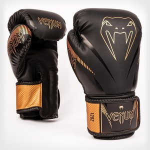 Venum Venum Impact Muay Thai Bokshandschoenen Zwart Brons