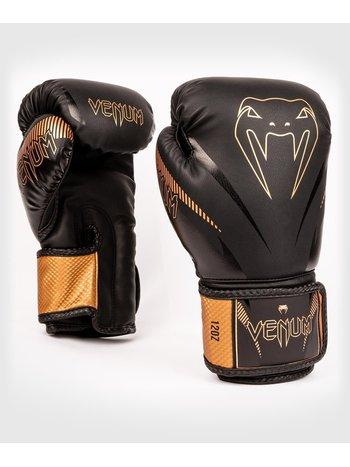Venum Venum Impact Muay Thai Boxing Gloves Black Bronze