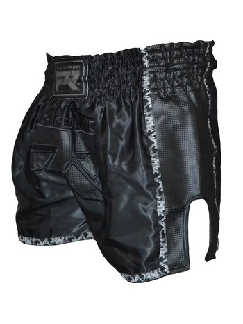PunchR™  Punch Round Muay Thai Shorts Dull Carbon Camo