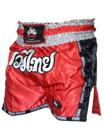 PunchR™  Punch Round™ Kickboxing Höse Muay Thai Rot