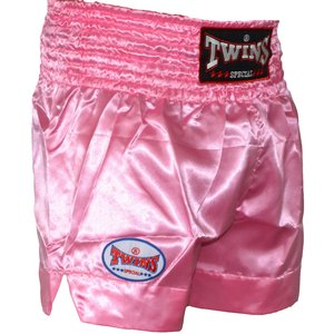 Twins Special Twins Muay Thai Kickboxing Hose TTE 006 Rosa