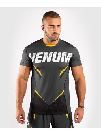 Venum Venum ONE FC Impact Dry Tech T-Shirt Grau Gelb