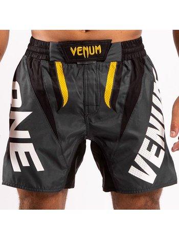 Venum Venum ONE FC Impact Fightshorts Grey Yellow