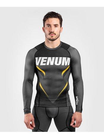 Venum Venum ONE FC Impact Rashguard L/S Grey Yellow