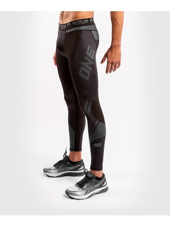 Venum Venum ONE FC Impact Compression Tights Legging Black Black