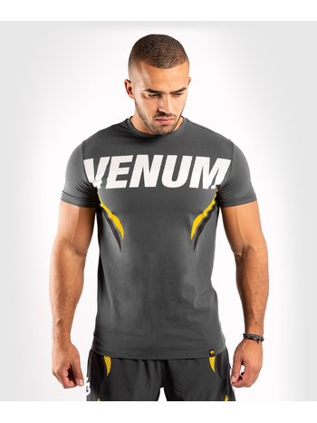Venum Venum ONE FC Impact T Shirt Grijs Geel