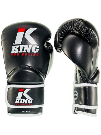 King Pro Boxing King Pro Boxing KPB/BG KIDS 1Bokshandschoenen Zwart Wit Rood