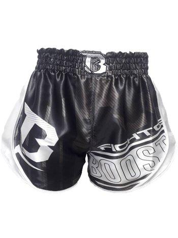 Booster BoosterKickboks BroekjeB Force 1 Muay Thai Short Zwart Wit