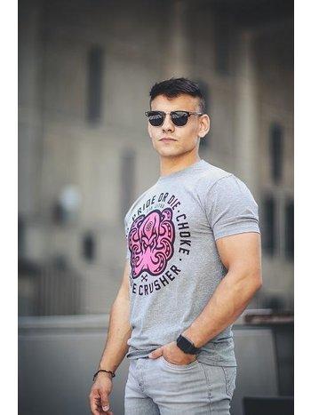 Pride or Die Pride or Die T Shirt Bone Crusher Grijs