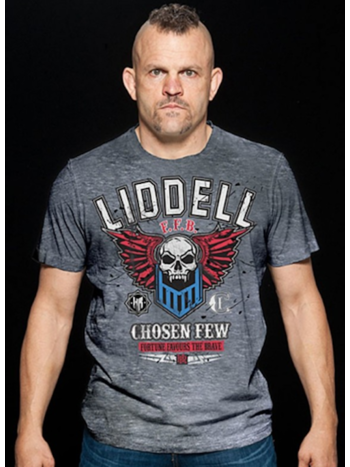 HeadRush HeadRush Chuck Liddell T Shirt Chosen Few Collection