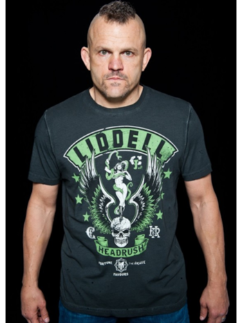 HeadRush HeadRush Snake Fixen Chuck Liddell T Shirt Chosen Few Collection