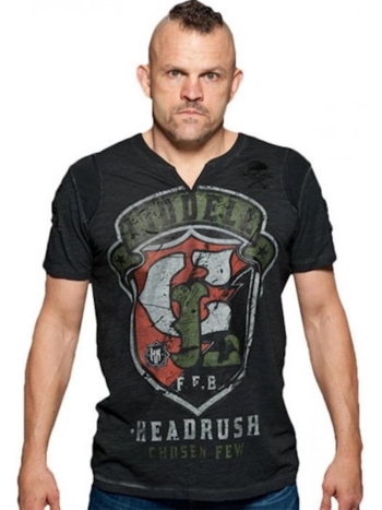 HeadRush HeadRush Chuck Liddell Shield T Shirt Chosen Few Collection