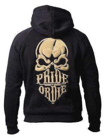 Pride or Die Pride or Die Hoody Sweater Reckless Schwarz Gold