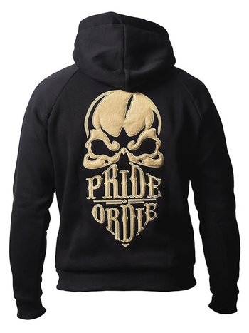 Pride or Die Pride or Die Hoody Sweater Reckless Zwart Goud