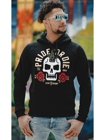 Pride or Die Pride or Die Hoody Sweater Stay Sharp Zwart