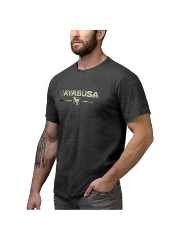 Hayabusa Hayabusa Metallic Logo T-Shirt Zwart Goud