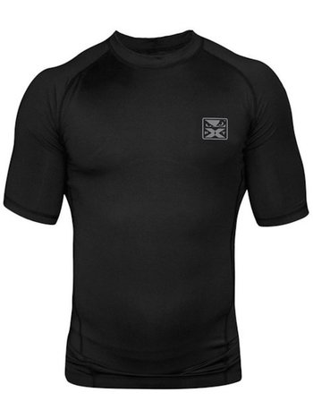 Bad Boy Bad Boy Onyx Rash Guard S/S Zwart Vechtsport Kleding