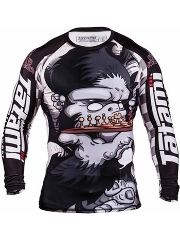 Tatami Fightwear Tatami Play Chess Gorilla Rashguard by Chris Burns