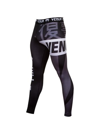Venum Venum Revenge Leggings Spats Tights Black Grey
