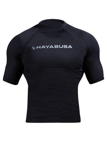 Hayabusa Hayabusa Haburi 2.0 Rash Guard S/S Zwart