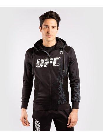 Venum UFC Venum Authentic Fight Week Herren Zip Hoodie Schwarz