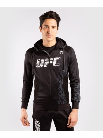 Venum UFC Venum Authentic Fight Week Hoodie met rits Zwart